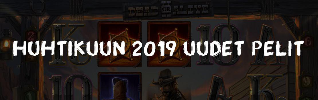 Huhtikuun 2019 uudet pelit