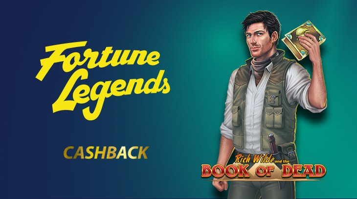 Fortune Legends on paras kasino Book of Deadin pelaamiseen