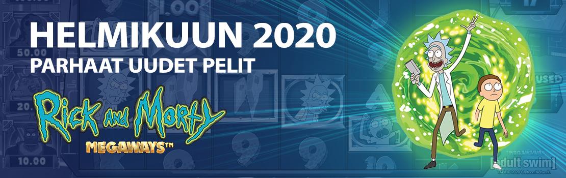 Helmikuun 2020 parhaat uudet pelit