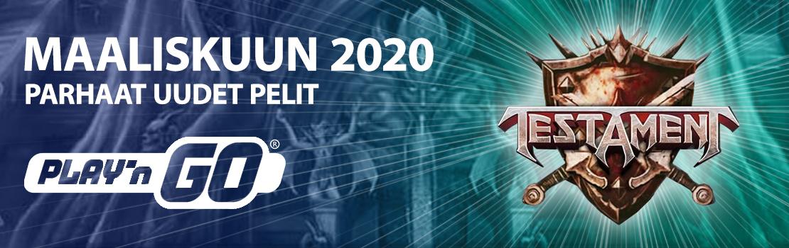 Maaliskuun 2020 parhaat uudet pelit