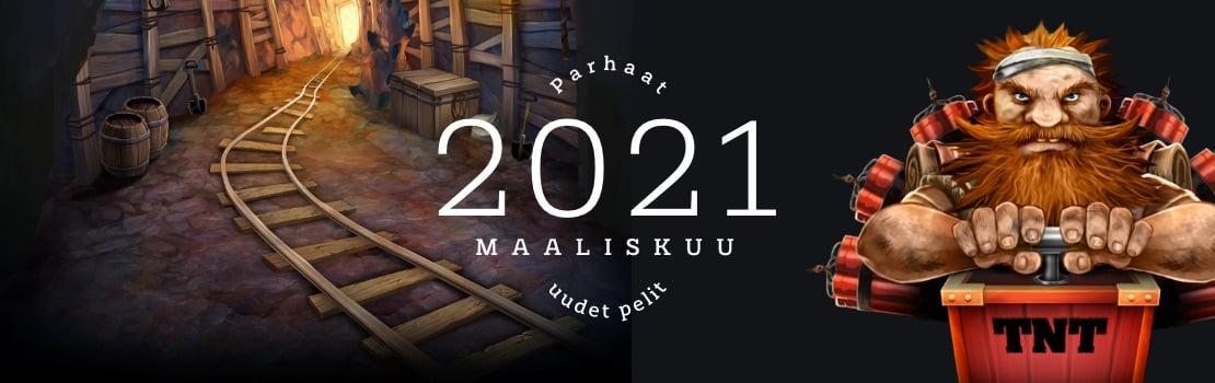 maaliskuun 2021 parhaat uudet pelit
