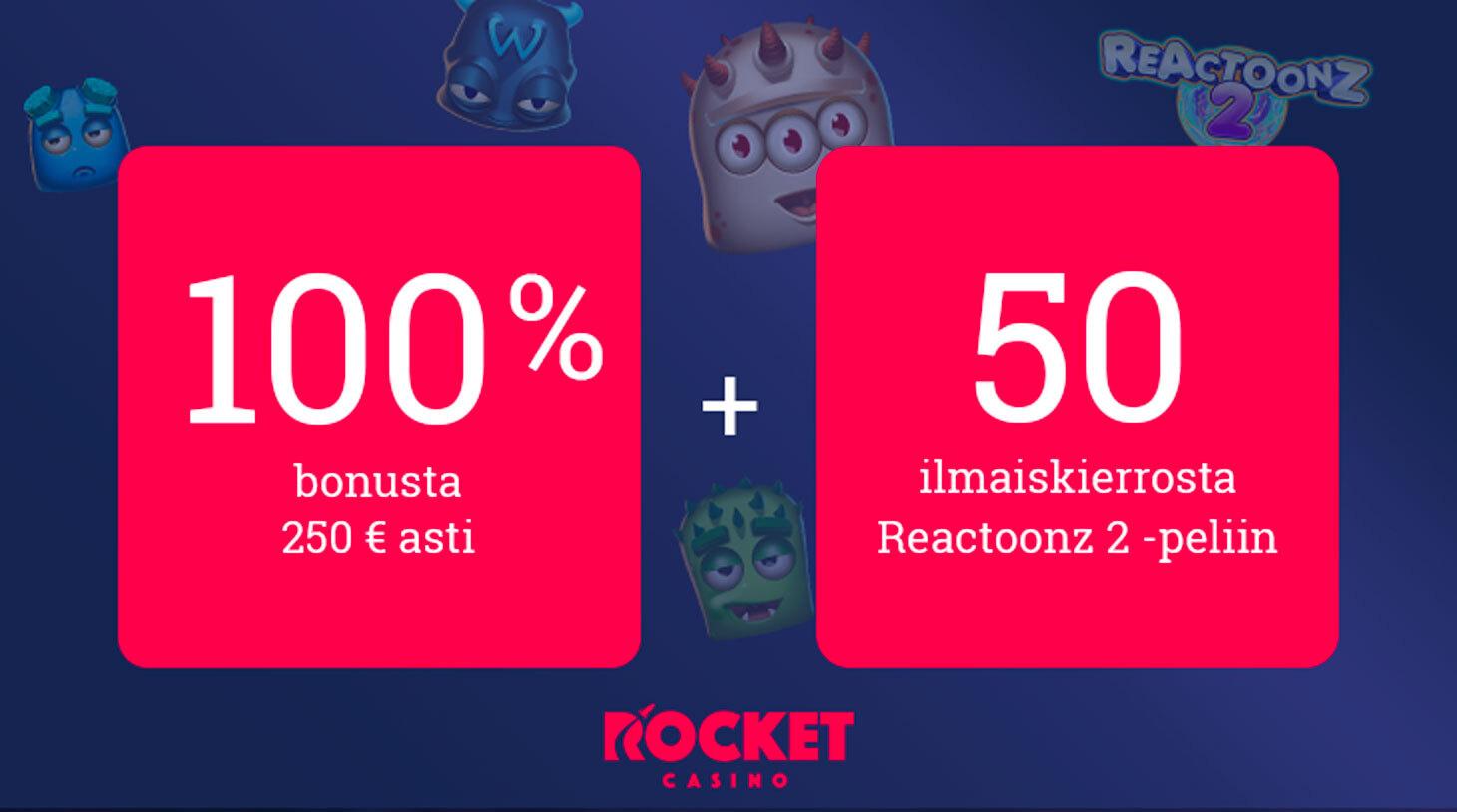 Rocket Casino tarjous