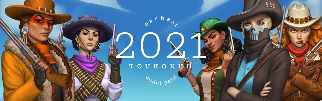 toukokuun 2021 parhaat uudet pelit
